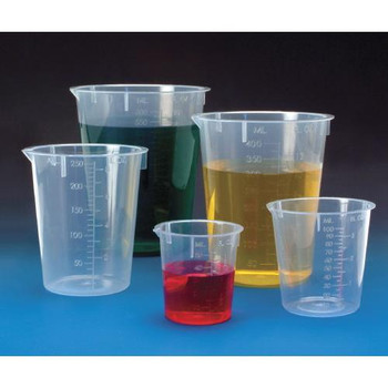 BMP-BK-250 Biomedical Polymers DISPOSABLE BEAKERS (Case of 500)