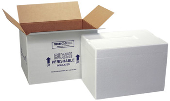 Polar Tech 225C Thermo Chill Insulated Foam Shippers, 12??????¼ x 10??????¼ x 5??????¼  (Each of 1)