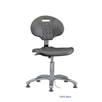 Bevco 7050E-CARD5S Everlast (7000 Series) Class 10 Cleanroom and Esd Polyurethane Seating Chair Ergonomic ESD  (Each of 1)