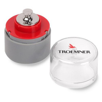 7023-0W Troemner Analytical Precision UltraClass Weights with NVLAP Accredited Certificates Weight Ind Anlyt w / Cert 3G Each of  1
