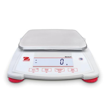 Ohaus 30253019 Scout SPX LCD Portable Balances Scout Balance, Model SPX222, 220g x 0.01g  (Each of 1)