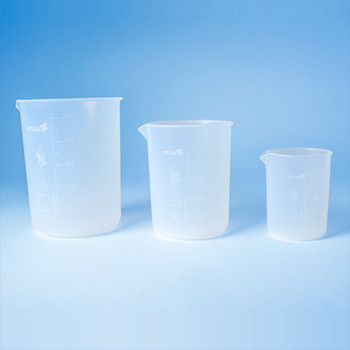 V110605 BrandTech Griffin Beakers, PFA, 250 mL, 95 mm Height, 77 mm O.D., Molded Graduations (1 Each)