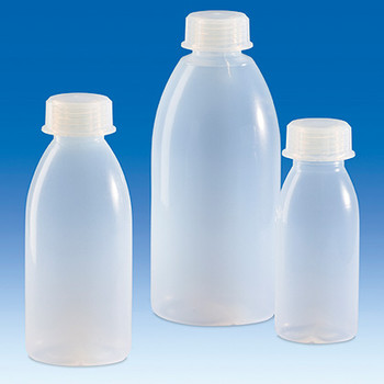 V108397 BrandTech Round, Narrow Mouth PFA 500 mL Bottle, with PFA Screwcap, No Graduations (1 Each)