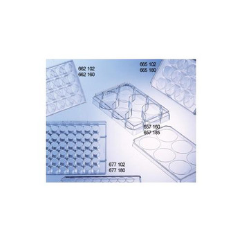 3699-04 Greiner Bio-One 6 Well CELLSTAR Cell Culture Multiwell Plates (Case of 100)