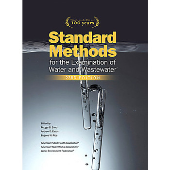 Hach 2270800 Standard Methods for the Examination of Water and Wastewater  (Each of 1)