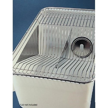Maryland Plastics E0250 Polypropylene Cage Bottoms 11.5 X 7.5 X 5 (top not included)