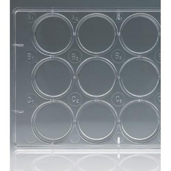 Celltreat Scientific 229512 Multiple Well Plates 12 Well Non-treated Plate with Lid, Individual, Sterile  (Case of 100)