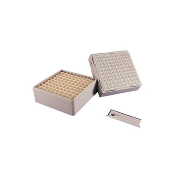 Thermo Scientific Nunc 341483 Mega Max-100 Cryostore Box Cryostore Box, Max-100, Sleeve Of 4  (Package of 4)