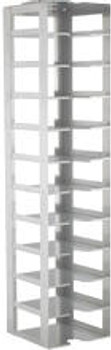 """RC112A Argos Technologies Chest Freezer Vertical Rack for 2"""" Cryoboxes, Holds 11 Boxes, Stainless Steel (1 Rack)"""