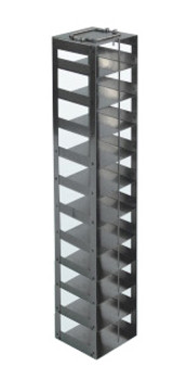 RCDP11A Argos Technologies Chest Freezer Vertical Rack for 96 - Deep Well Plates, Holds 11 Plates, Stainless Steel (1 Rack)