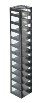 RCDP12A Argos Technologies Chest Freezer Vertical Rack for 96 - Deep Well Plates, Holds 12 Plates, Stainless Steel (1 Rack)
