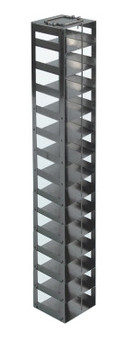 RCDP14A Argos Technologies Chest Freezer Vertical Rack for 96 - Deep Well Plates, Holds 14 Plates, Stainless Steel (1 Rack)