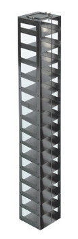 RCDP15A Argos Technologies Chest Freezer Vertical Rack for 96 - Deep Well Plates, Holds 15 Plates, Stainless Steel (1 Rack)