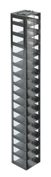 RCDP16A Argos Technologies Chest Freezer Vertical Rack for 96 - Deep Well Plates, Holds 16 Plates, Stainless Steel (1 Rack)