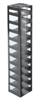 RCTB11A Argos Technologies Chest Freezer Vertical Rack for 96 - Well Plates, Holds 11 Plates, Stainless Steel (1 Rack)
