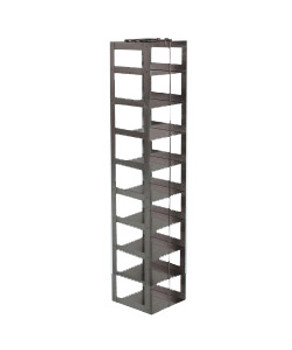 RCX92A Argos Technologies Chest Freezer Vertical Rack for Matrix Boxes, Holds 9 Boxes, Stainless Steel (1 Rack)