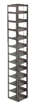 RCX122A Argos Technologies Chest Freezer Vertical Rack for Matrix Boxes, Holds 12 Boxes, Stainless Steel (1 Rack)
