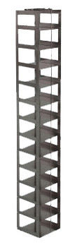 RCX132A Argos Technologies Chest Freezer Vertical Rack for Matrix Boxes, Holds 13 Boxes, Stainless Steel (1 Rack)