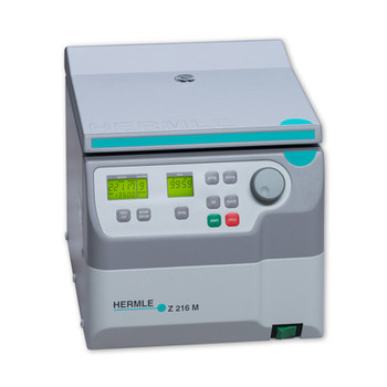 Hermle Z216-M High Speed Microcentrifuge, Small Footprint, With 44 Place Microtube Rotor