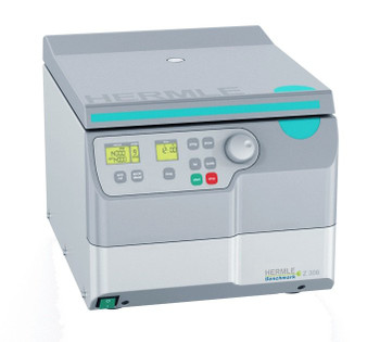 Hermle Z306 Universal Centrifuge, Compact Design, With 2 Microplate Swing Out Rotor