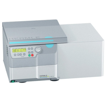 Z366-K-BND Hermle Z366 Mid-Range Capacity Refrigerated Universal Centrifuge, Includes 4 x 250 mL Swing Out Rotor and 15 and 50 mL Adapters