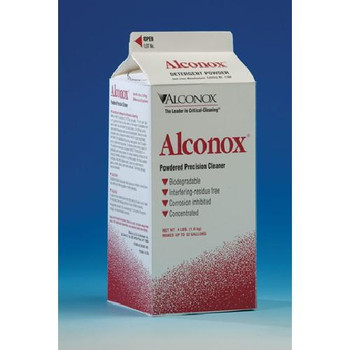 Alconox 1112 Alconox Detergent Biodegradable Cleaning Compound Alconox, Dispenser Boxes, 50 x 1/2 oz.  (Case of 12)