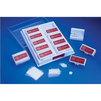 Thermo Scientific 22X35-1-002 Gold Seal Cover Slips COVER GLASS, No. 1 Thickness Rectangles, 22 x 35 mm, 1 oz. Bx.  (Box of 1)