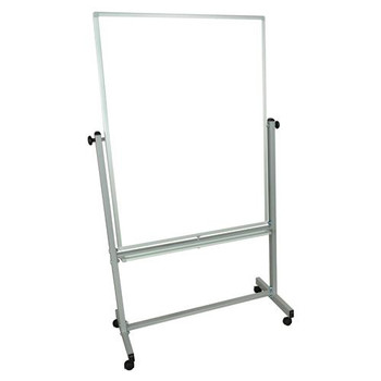 Luxor MB7240WW Reversable Double Sided Whiteboard Double Sided Magnetic White Board, 72\  (Each of 1)