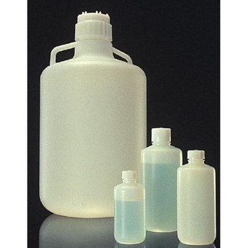 Thermo Scientific Nalgene 2097-0010 Fluorinated Carboys and Bottles Bottle Fluorinated Flpe 4 L  (Package of 1)
