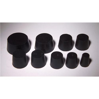 United Scientific Supplies RST8-H Rubber Stoppers 1-Hole, # 8 Rubber Stopper, 1lb  (Each of 1)