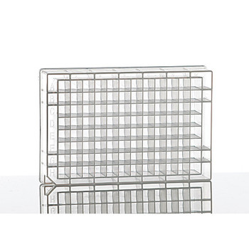 4titude 4ti-0126-PK 96 Square Deep Well Storage Microplate; 1.2 ml square wells, U-shaped bottom, clear PP, 100 plates ( Package of 100)