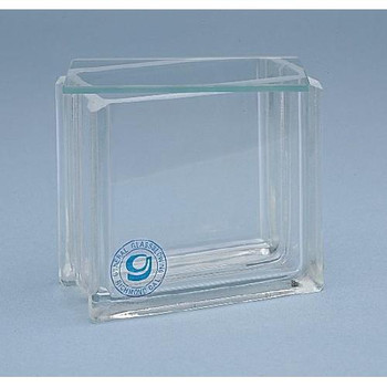 60-3TL General Glass Blowing 10 cm Developing Tank (Each of 1)