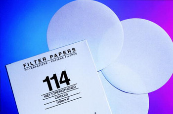 GE Healthcare 1113-110 Grade 113 Qualitative Filter Papers Grade 113 Qualitative Filter Paper Wet-Strengthened, circle, 110 mm (Package of 100)