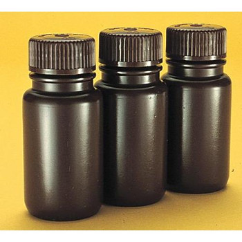 Thermo Scientific Nalgene 2106-0002  Amber Bottle Wide Mouth HDPE 60 ml  (Package of 12)