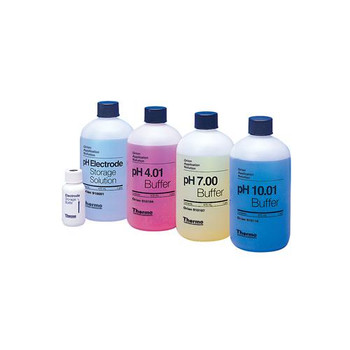 Thermo Scientific Orion 910199 Orion pH Buffers All In One Buffer Kit w/pH 4.01, 7.00 & 10.01, Electrode Storage Solution, & Electrode Storage Bottle  (Each of 1)