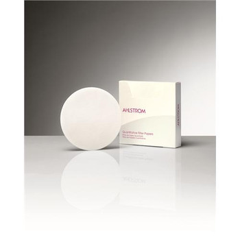 Ahlstrom 0550-4000 Quantitative Filter Papers, Ahlstrom 55 (Ashless) Filter Paper #55 40cm  (Package of 100)