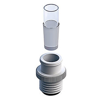 Ace Glass 5026-20 Adapter, Conversion, Ace-Thred to Joint #15 Ace thread to 24/40 PTFE adapter (Each of  1)