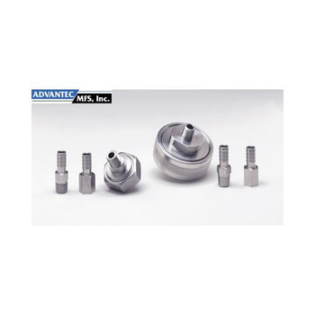 Advantec MFS 304500 Stainless Steel Gas In-Line Filter Holders 25mm Gas Line Holder, model LS25 (Each of  1)