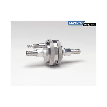 Advantec MFS 357500 Vented In-Line Filter Holder, Stainless Steel 316ss 47mm Vented In-Line Holder (Each of  1)
