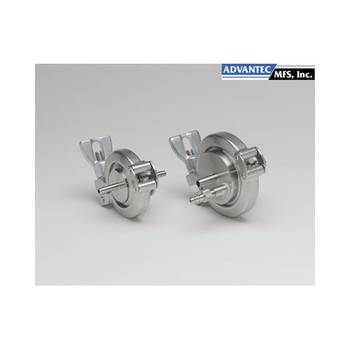 Advantec MFS 17307200 Sanitary In-Line Filter Holders, Stainless Steel 47mm Sanitary In-Line Holder, model KS47F (Each of  1)