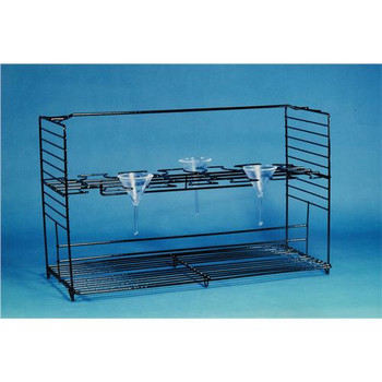 Accurate Wirecraft 122510BK-EA Funnel Support Rack ( Each of 1)