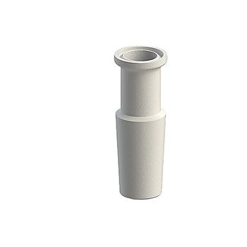 Ace Glass 5001-28-EA 45/50 to 1-1/2 in. sanitary adapter, PTFE ( Each of 1)