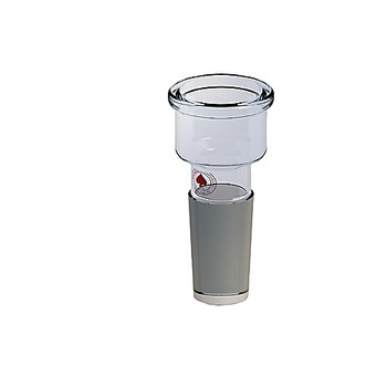 Ace Glass 1133622-EA 24/40 inner joint to 1 in. beaded pipe adapter ( Each of 1)