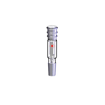 Ace Glass 1145310-EA Adapter, straight connection, 24/40 outer top, 24/40 inner bottom, 150mm overall length ( Each of 1)
