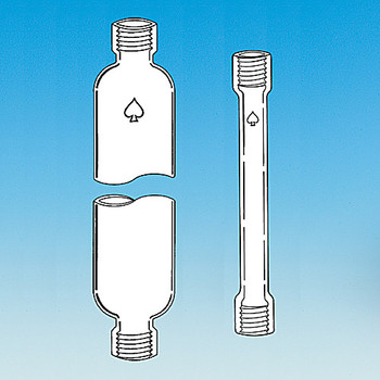 Ace Glass 5820-50-EA 50mm id 300mm chromatography column with #50 Ace-Threds ( Each of 1)