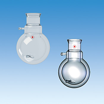 Ace Glass 6480-305-EA Flask, reaction, jacketed, 3000mL, #11 Ace-Thred connections on inlet/outlets for use with 3/8in id tubing ( Each of 1)