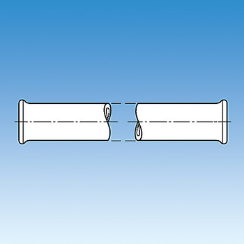 Ace Glass 8828-303-EA 4x1-1/2in beaded pipe ( Each of 1)