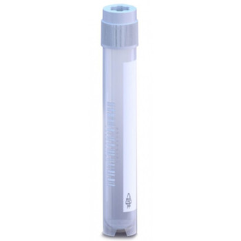 Argos Technologies PolarSafe Sterile Cryovials, 4 mL, Skirted-Bottom, External Thread; Case of 50