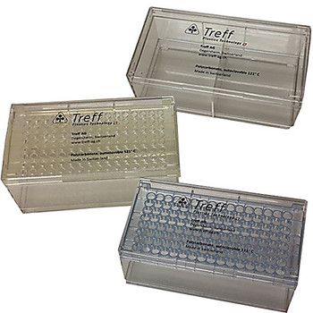 Argos Technologies 1170X31 Treff Pipette Tip & Storage Boxes Laboratory Storage Box with Lid, Removable Divider, 6-3/4 x 3-3/16 x 3-9/16 (L x H x W) (Each of  1)