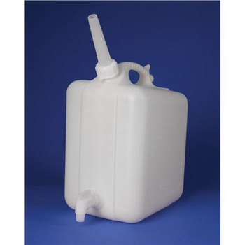F11859-0010 Bel-Art Products Polyethylene Jerricans with Spigots 5L Polyethylene Jerrican with Spigot Each of  1